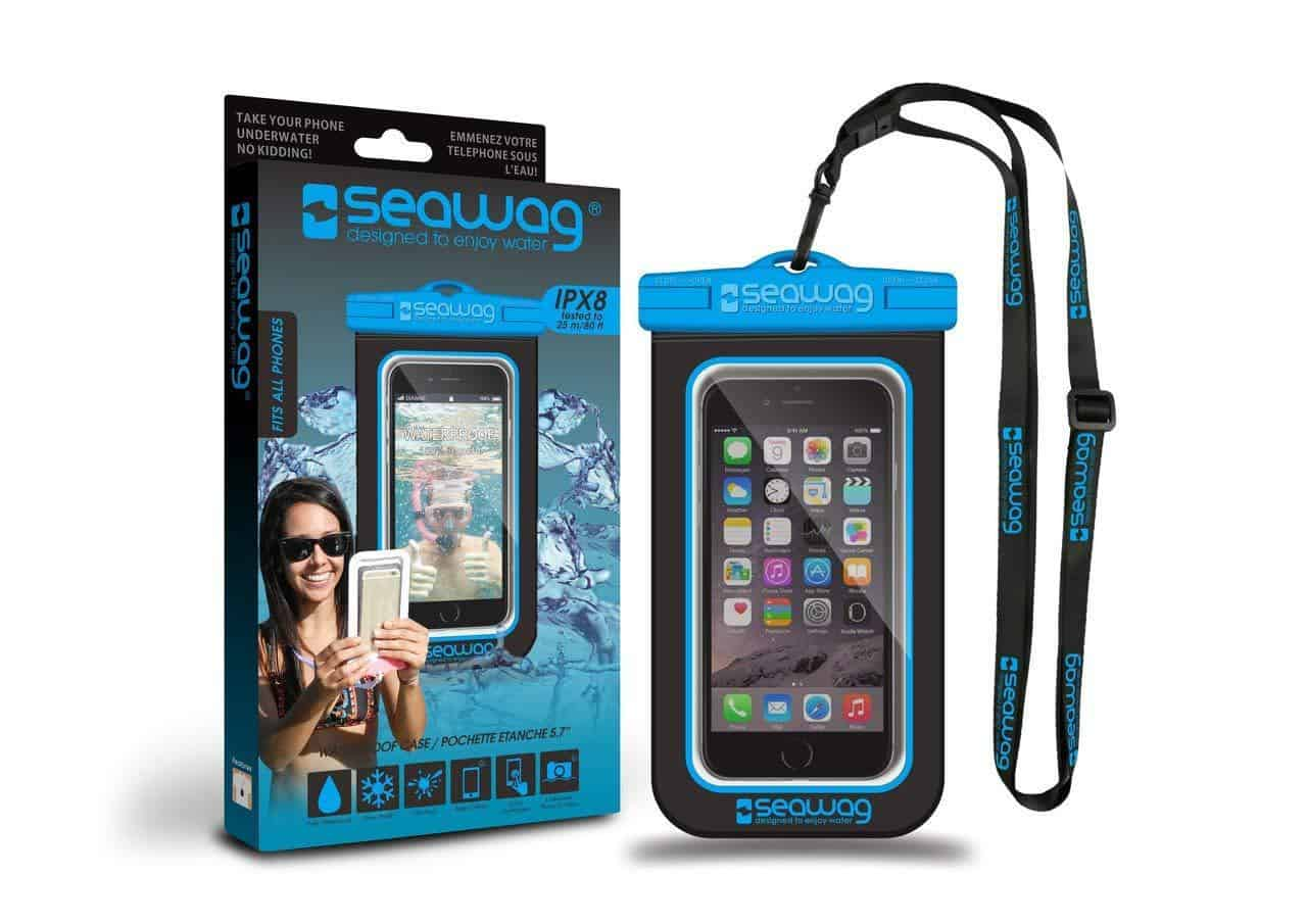 Waterproof cell phone holder