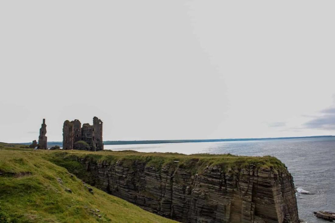Castle Sinclair and Castle Girnigoe