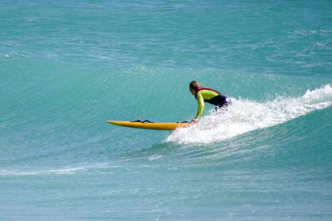 Surfing in Thurso