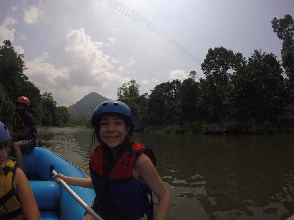 Whitewater rafting in Sri Lanka
