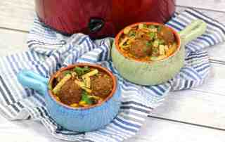 TEX MEX MEATBALL SOUP