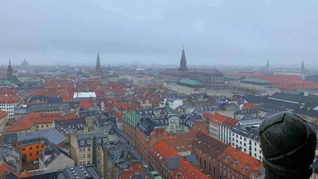 View from Copenhagen city hall