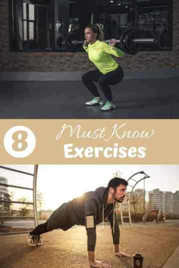 8 Must Know Exercise