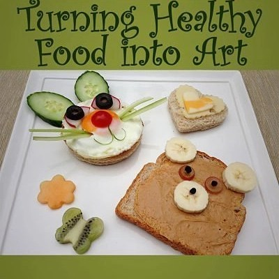 17 Fun Food Art Projects You Can Do With Your Child