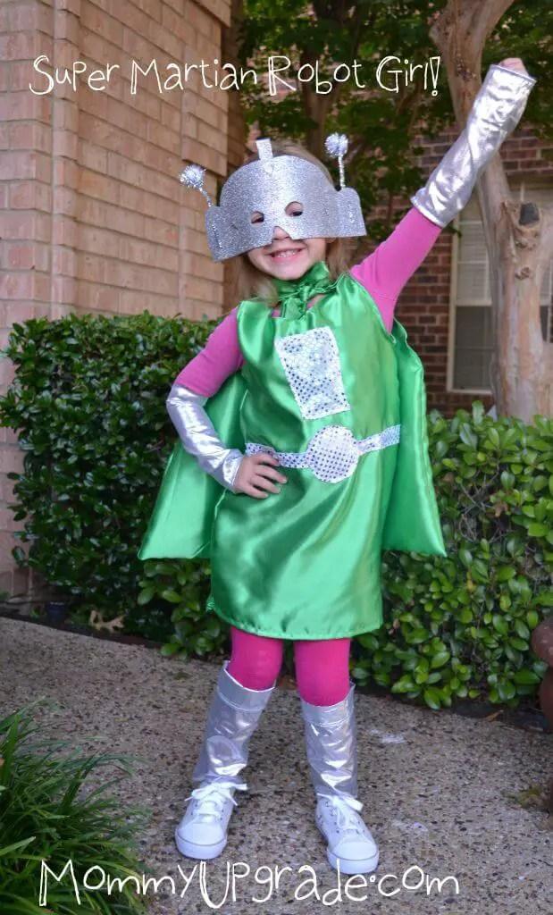... Super Martian Robot Girl Costume. HalloweenSewing crafts & Super Martian Robot Girl Costume | Fancy Dress