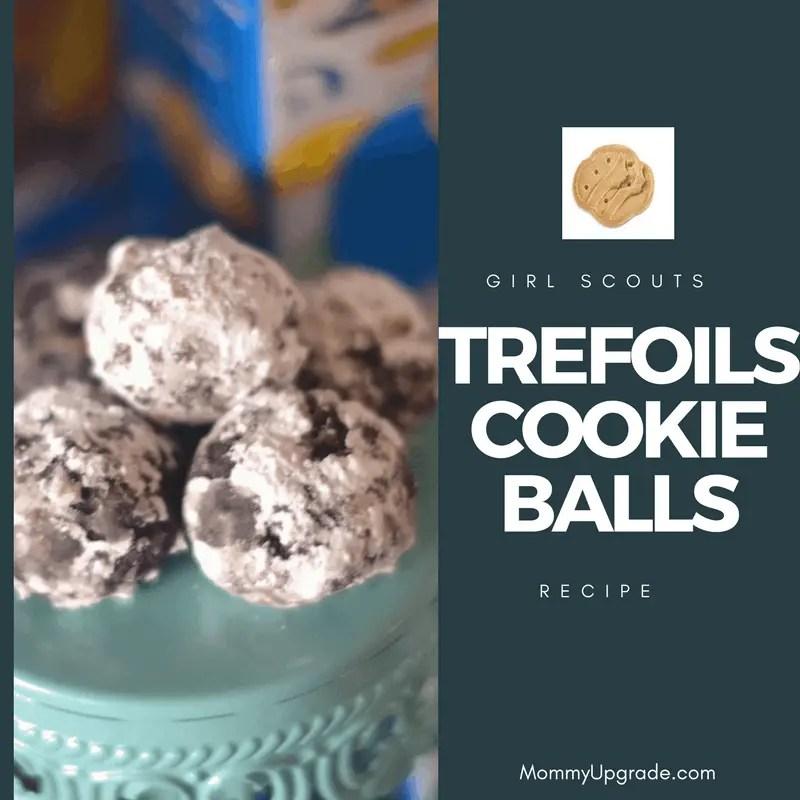 recipe trefoils cookie balls   mommy upgrade