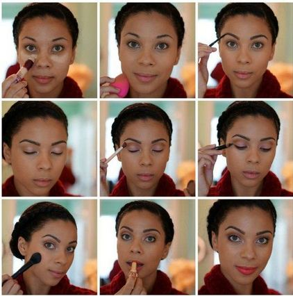 Stunning Natural Look Makeup – Simple Step By Step Tutorial With Images