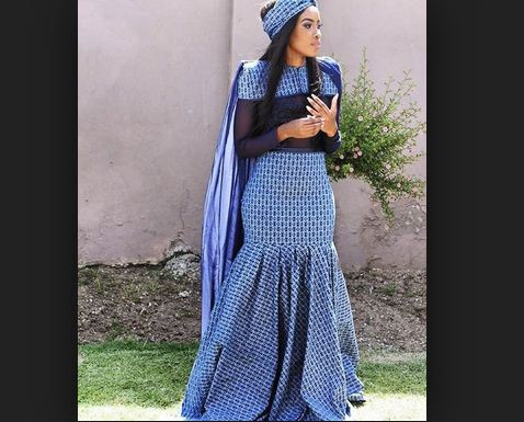 Hot And Stylish South African Shweshwe Dresses For Women