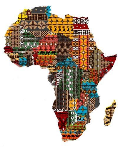 African flag ankara