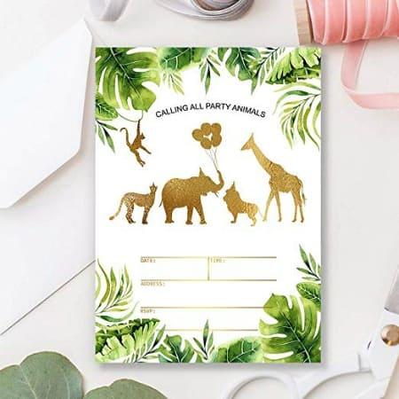 how to throw a safari birthday party