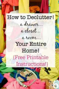 How to Declutter   A Drawer  A Closet  A Room  Your Entire Home     You just can t be the organized person you aspire to be if you are