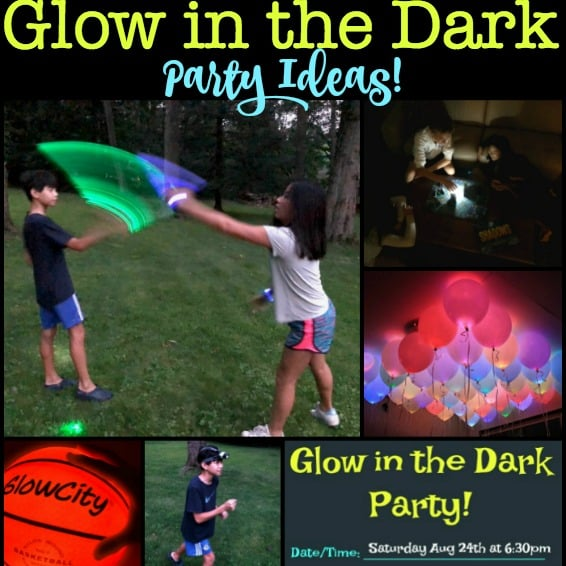 15 Awesome Glow In The Dark Party Ideas Momof6