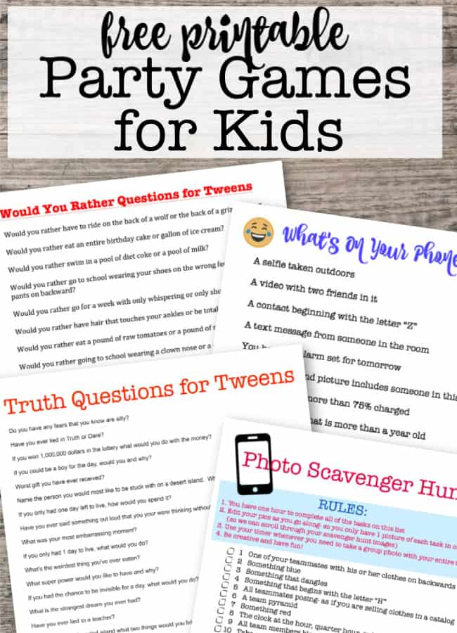 How To Throw Kids Birthday Parties At Home Momof6