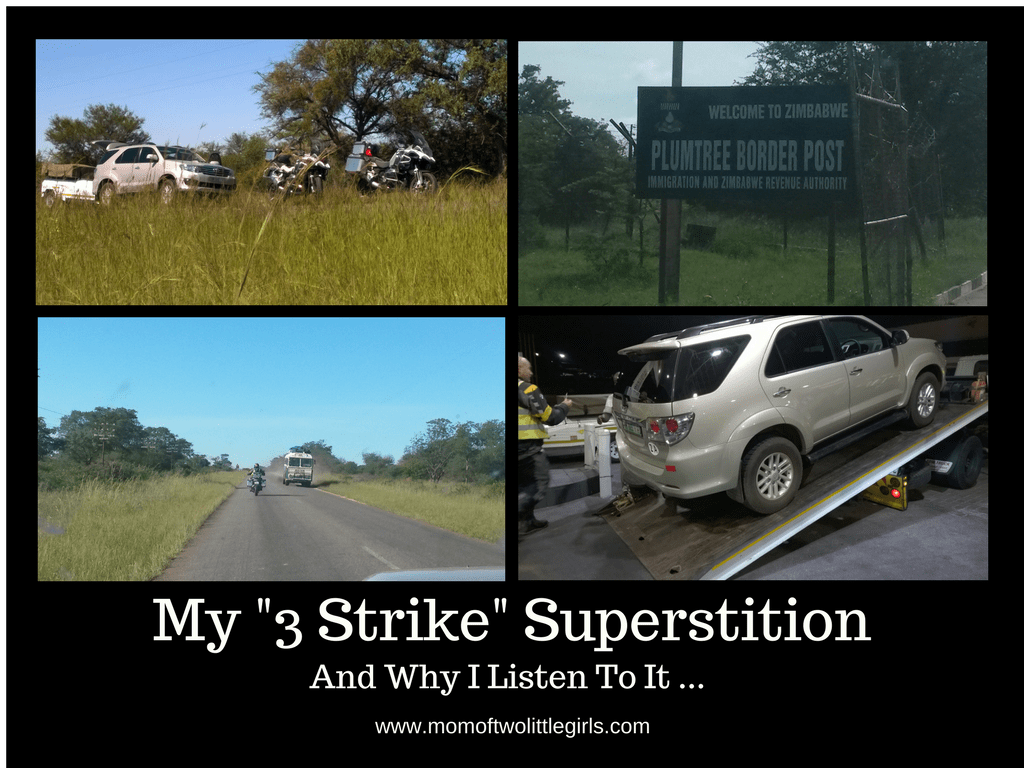 My 3 Strike Superstition