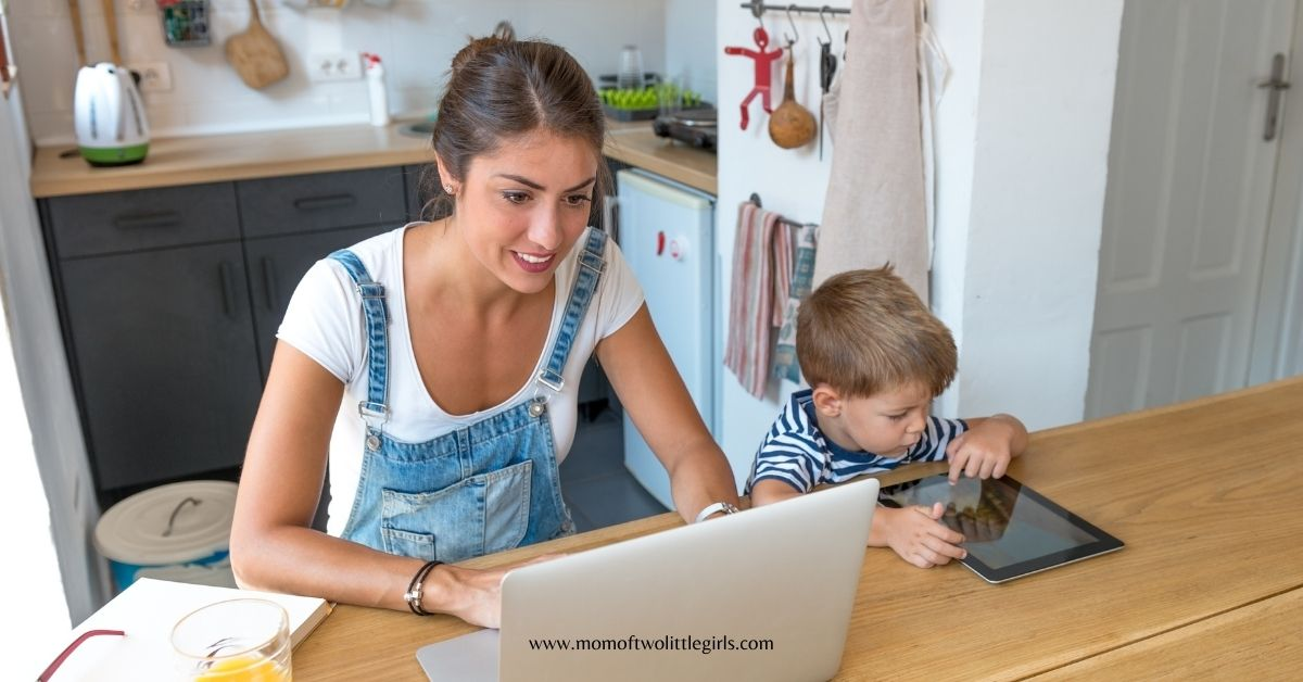 be a consistent freelancer with kids