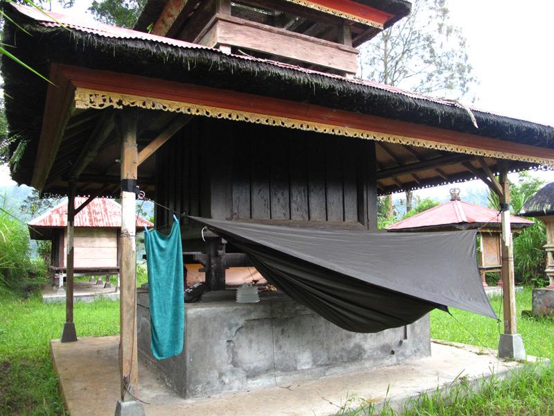 Vision Quest – En passage för självtransformation. Min första resa i Balis djungel och med Hennessy hammock