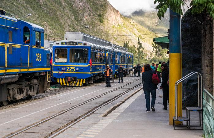 Viagem para Machu Picchu - Trens Peru Rail