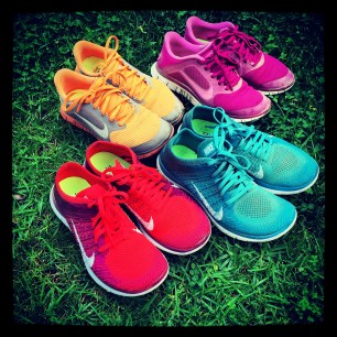 My Nike-Free shoes of the last 2 years