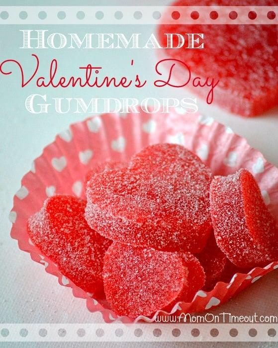 Valentine's Day Homemade Gumdrops Recipe