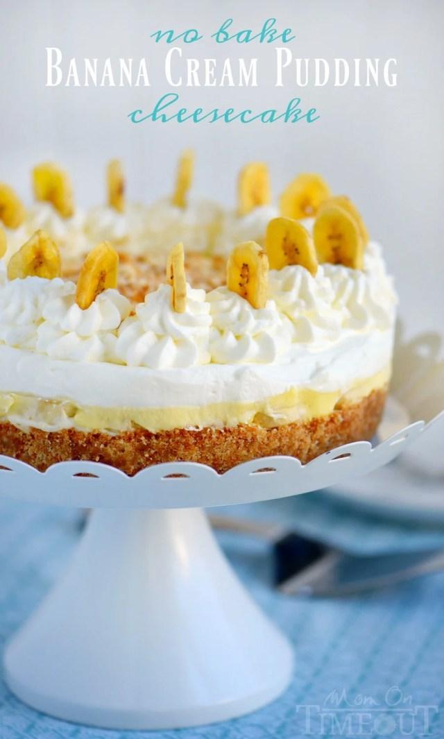 Banana Cream Pudding Cheesecake