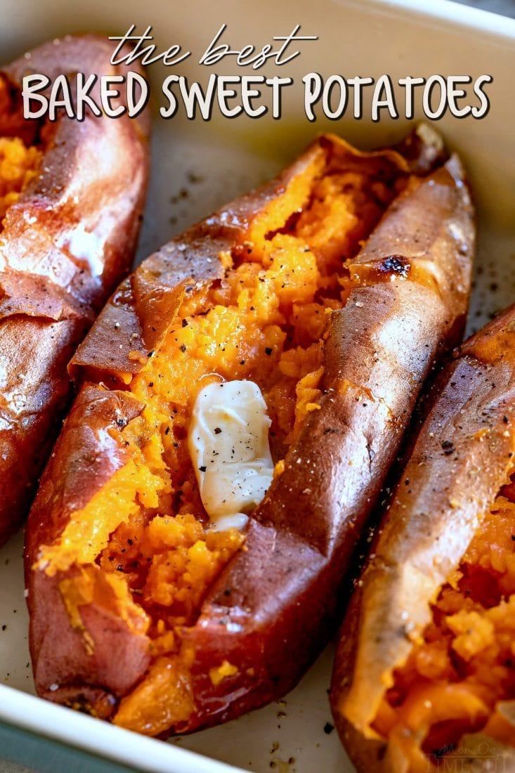 easy baked sweet potato how to bake