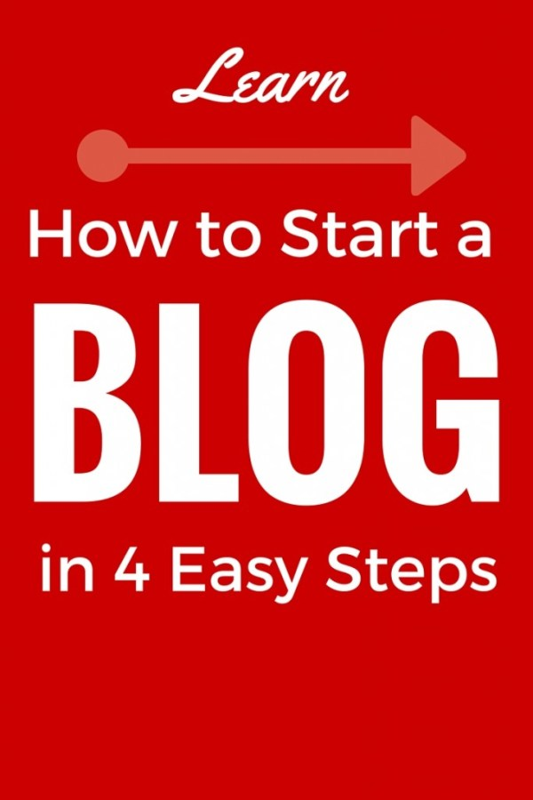 Learn how to start a blog in 4 easy steps.