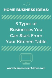 At Home Small Business Ideas: The Basics