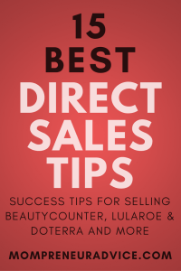 15 Direct Sales Tips for Newbies in 2018