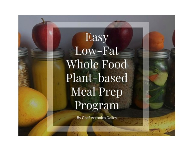 "$3 Meal Planner – ""Low-Fat Whole Food Plant-Based Meal Prep Program"" PDF download - EasyVeganMealPrep.com"