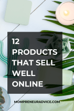 Here's 12 products that sell well online.