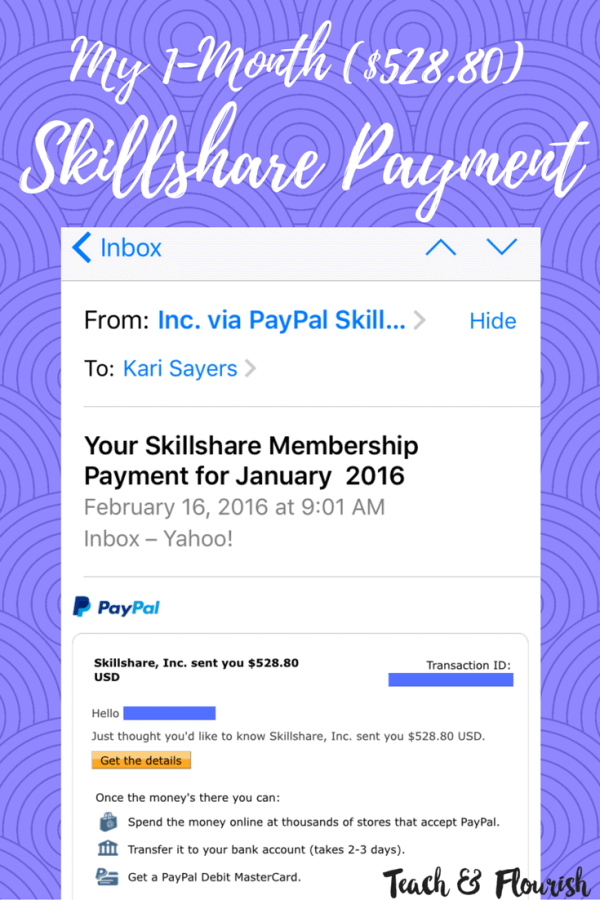 My jaw dropped when I made over 500 dollars in one month with a 24 minute class on Skillshare. Click through to see how you can do it too!