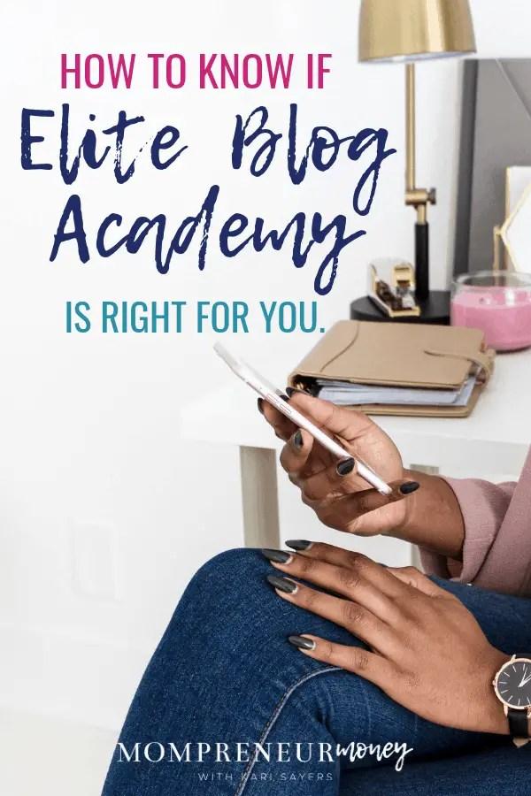 Should You Join Elite Blog Academy?