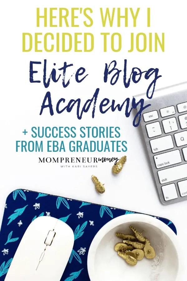 Why Elite Blog Academy?