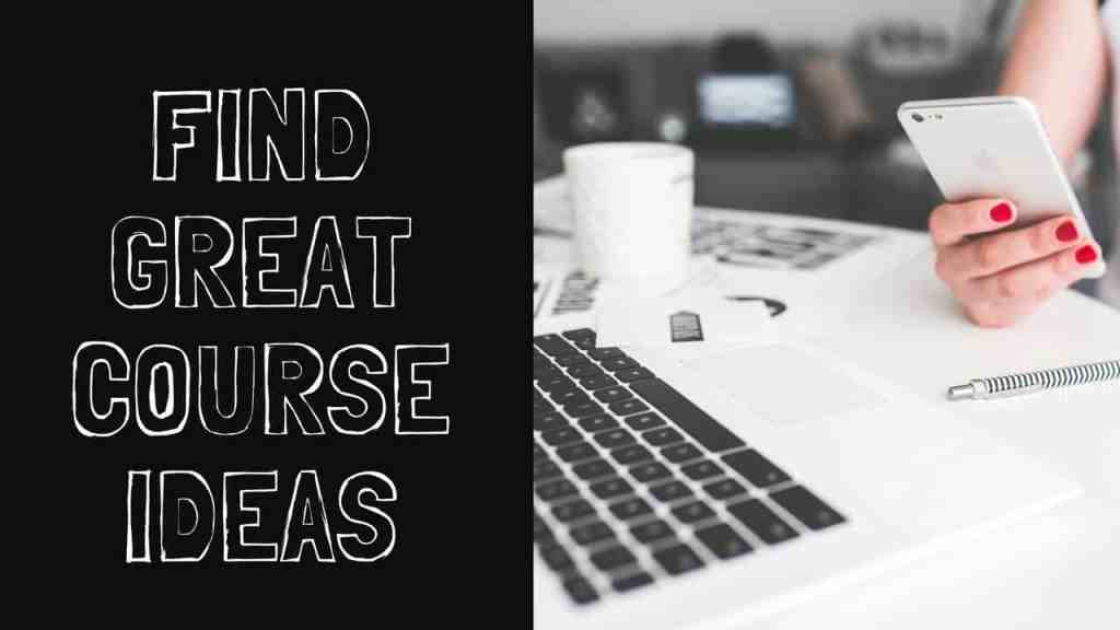 Enroll in Find Great Course Ideas