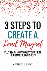 Every blogger should create alead magnet to help convert readers into email subscribers. Use this simple 3-step checklist to get started.