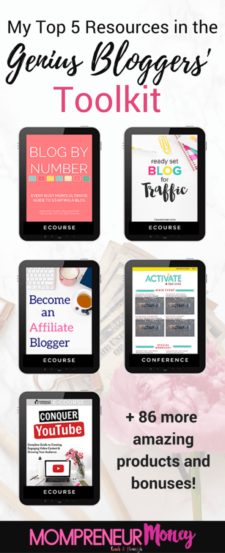 My Top 5 Resources From The 2017 Genius Bloggers Toolkit