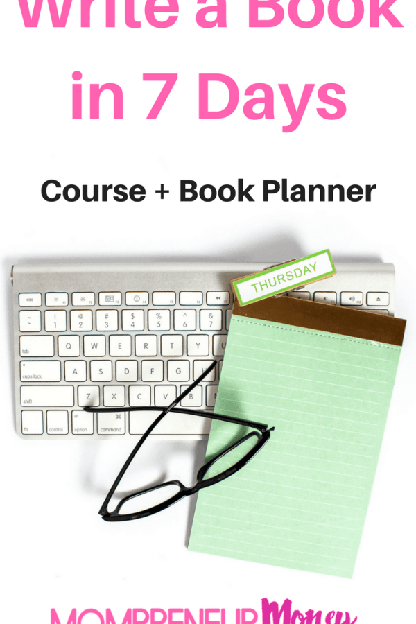 Write a Non-Fiction Book in 7 Days + a Bonus Book Planner