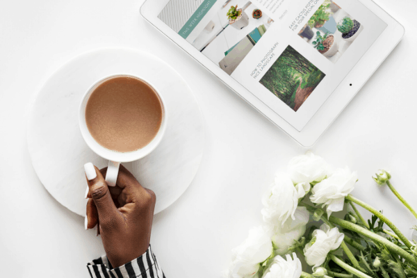 This mom earns a full-time income from blogging