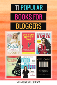 My top 11 recommended books for bloggers that are great for any female entrepreneur to read! Learn how to start a successful blog, get helpful business tips and ideas, and more. These books have changed my life and business!