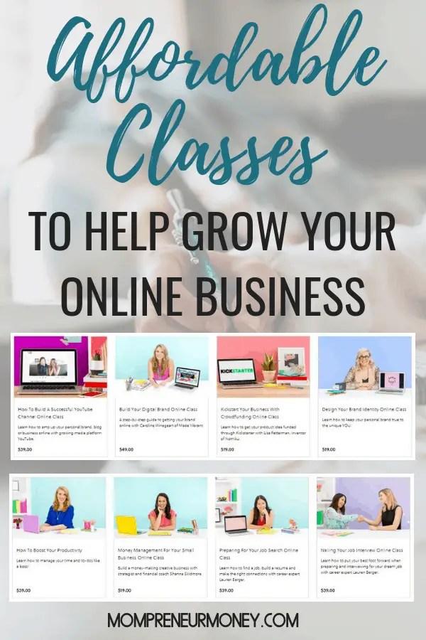 Online Classes for Female Entrepreneurs