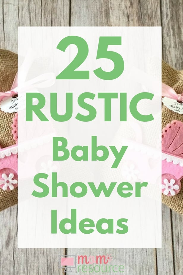 25 Rustic Baby Shower Ideas Mom Resource
