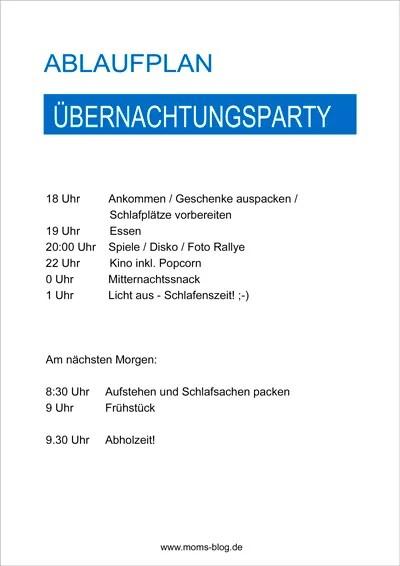 Geburtstagsparty Planen Checkliste Mydays Magazin