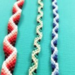 Zig Zag Friendship Bracelet Pattern With A 3d Effect Moms And Crafters