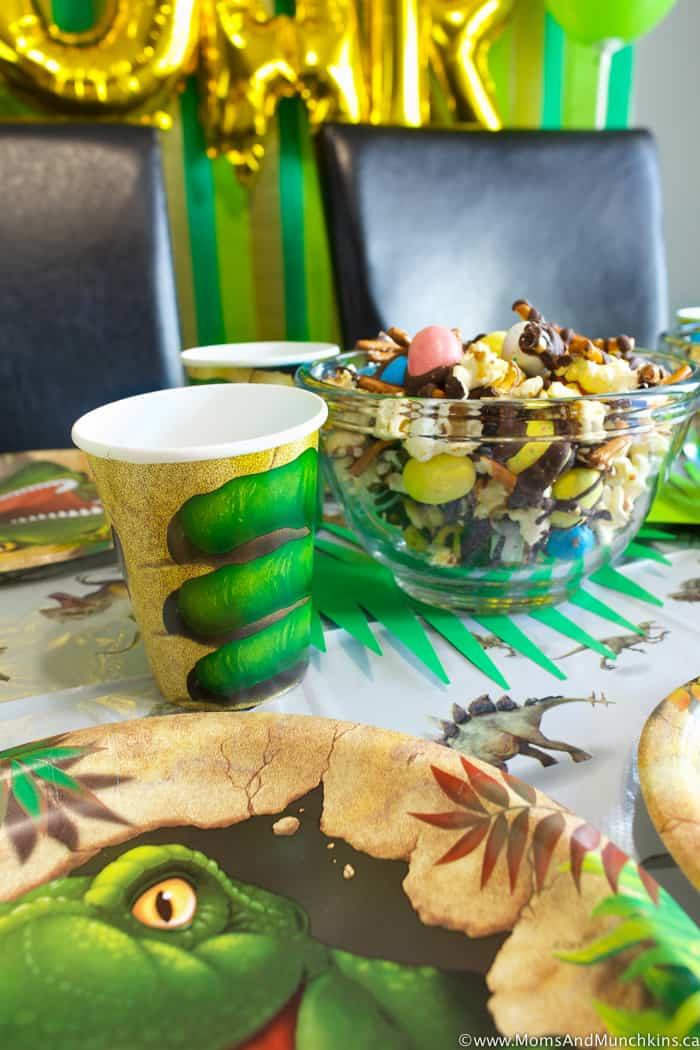 Dinosaur Birthday Party Ideas Moms Amp Munchkins