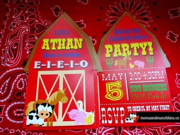 farm animal birthday party ideas moms