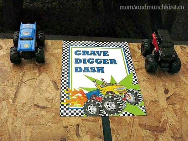 Monster Truck Birthday Party Ideas Moms Amp Munchkins