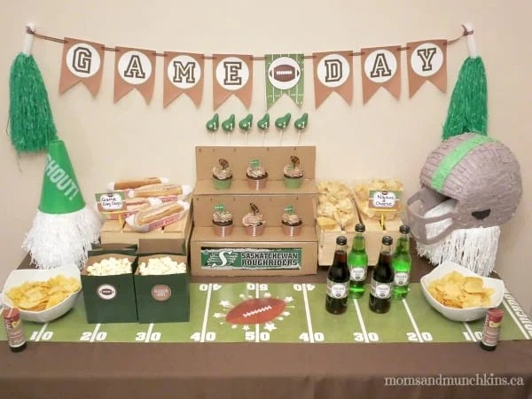 Football Party Ideas Perfect For All Ages Moms Amp Munchkins