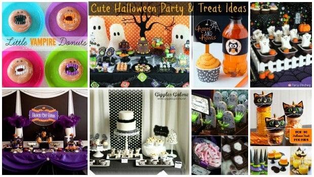 Cute Halloween Party Ideas Moms Amp Munchkins
