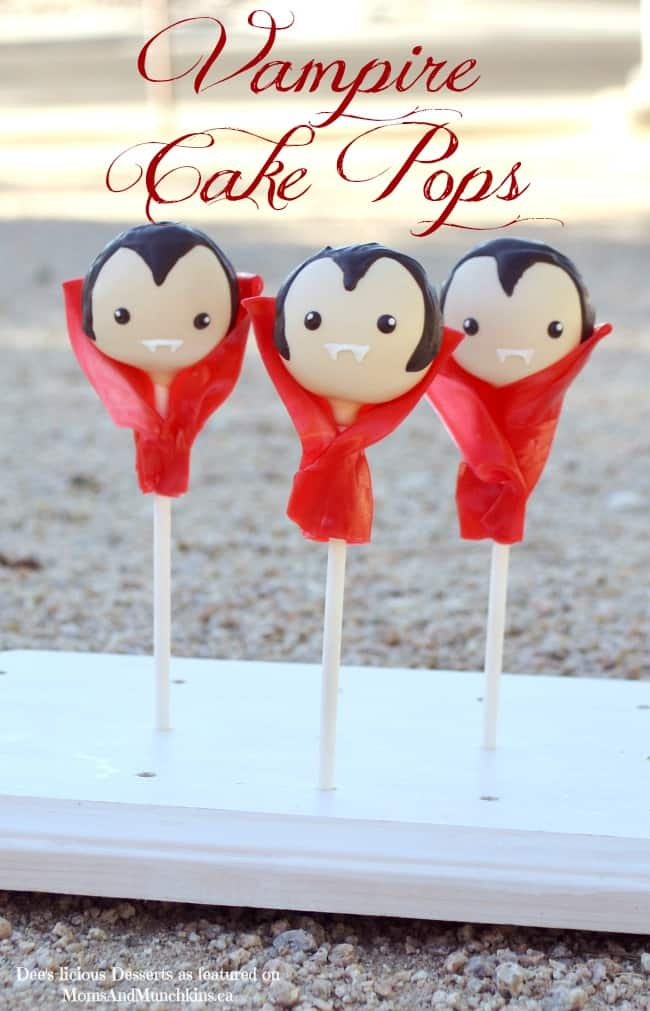 Vampire Cake Pops