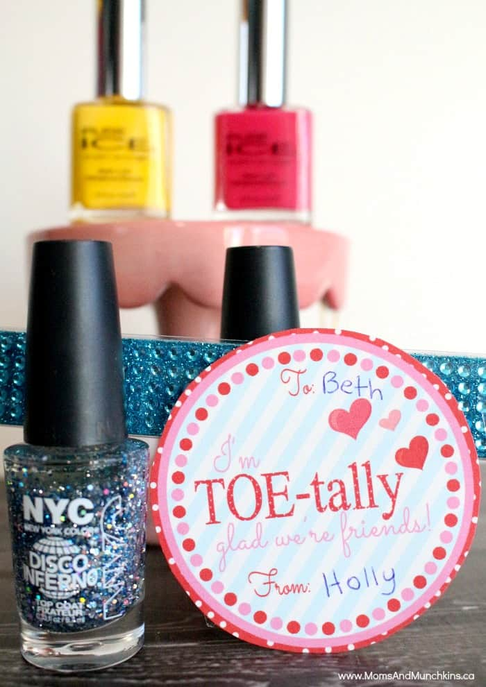 TOE Tally Sweet Valentines Day Favor Tags Moms Amp Munchkins